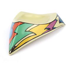 Rosenthal Studio Linie FLASH 80er Design Ascher DOROTHY HAFNER memphis ashtray