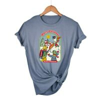Women's T-Shirts Merry Christmas Graphic Shirt Short Sleeve Soft Cotton Top Tees