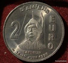 AMIENS LES HORTILLONNAGES LAFLEUR  2 EURO TEMPORAIRE DES VILLES 1998 FDC 1082A84