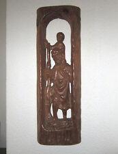 Heiliger CHRISTOPHERUS mit JESUSKIND Heiligenfigur Nothelfer Schutzpatron Holz