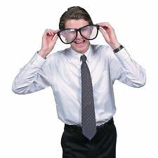 JUMBO BLACK EYE FRAME GLASSES BIG Lenses Clown Nerd Funny Giant Joke Sunglasses