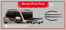 Smoke Tinted Weather shields 6pcs for 2008 ~ 2017 Toyota LANDCRUISER 200