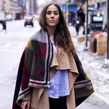 Zara Woman Authentic Acrylic Multi-colour Scarf Blanket Soft Large 4219/225