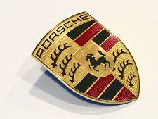 Neu Original Porsche Abzeichen Motorhauben Haube Wappen Emblem 9P1853611