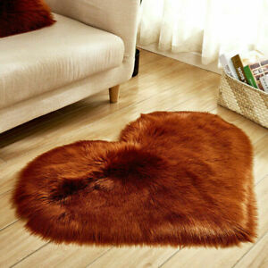 New Heart-shaped Carpets Household Products Home Textile Products Bedside Mats