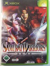 XBOX CLASSIC JUEGO Samurai Warriors, usado pero BUENO