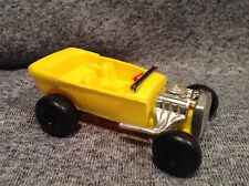 Vintage Simms Inc. Plastic Toy Hot Rod 1960's