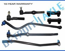 1994-1997 Dodge Ram 1500 2500 Front Tierod Track bar Steering Linkage -7pc  4WD