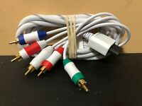 Nintendo Wii Unbranded (HD) High Quality Component Cable HD AV Cord
