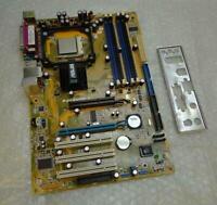 Asus P4V800D-X REV. 2.01 Socket 478 Motherboard complete with I/O Back Plate
