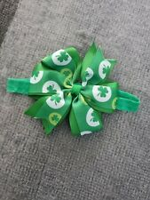 Beautiful handmade ST PATRICKS DAY hair band, New!!