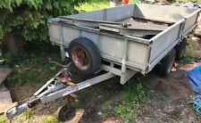 "Ifor Williams flat bed trailer 10' x 5' 6"" spares or repair"