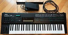 Yamaha DX7 II FD FM Digital Programmable Synthesizer 120V 61 Key Keyboard