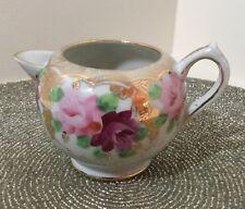 Vintage Floral china creamer