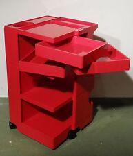 Älterer BIEFFE PLAST Boby Designer Büro Rollcontainer 8B by Joe Colombo 70er