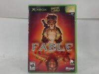 FABLE Xbox Complete CIB w/ Box, Manual Good