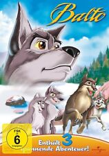 BALTO 1-3  3 DVD NEU