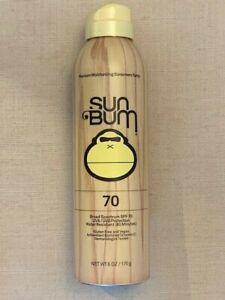 SUN BUM Original SPF 70 Sunscreen Spray 6 oz / 170g New Sealed Free Ship
