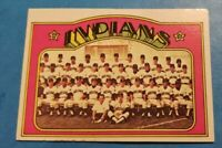 1972 Topps Baseball Cleveland Indians U Pick (Mostly EX-MT to NM)