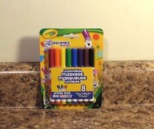 Crayola Pip-Squeaks Skinnies 8 Ct Washable Markers New