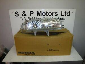 Honda Legend 91-96 OS Driver Side Headlight Genuine 33103SM4E04