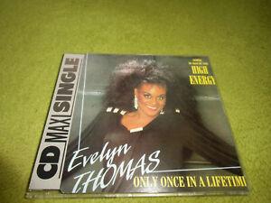 Evelyn Thomas - Only Once In A Lifetime/High Energy *NEU* ITALO DISCO CD SINGLE