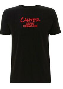 Gerry Cinnamon T Shirt Gig Erratic Cinematic Canter Album Inspired Single Scott