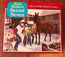 Rare Enid Blyton's Secret Seven jigsaw, 180 large piece puzzle, Whitman 7608
