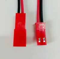 20 sets JST/SYP 2.54 2Pin 2P Connector plug Male & Female with 10cm Wires Cables