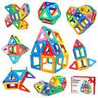 Kids Magnetic Building Block Set Tiles 42 Pcs Magnet Construction Toys Xmas Gift