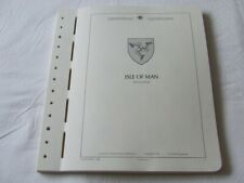 ISLE OF MAN 1958-87 LIGHTHOUSE ILLUSTRATED & HINGELESS STAMP ALBUM PAGES