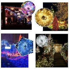 100 LED 32ft/10m Christmas Tree Fairy String Party Lights Lamp Xmas Waterproof