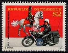 Austria 1974 SG#1708 GENDARMERIA MOTO Gomma integra, non linguellato #D63986