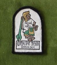 * Vintage Collectible Surfing Patch *