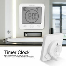 Baldr B0007 Waterproof Shower Clock Wall Clock Bathroom Touch Button Timer Clock