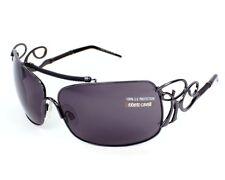 Roberto Cavalli Sunglasses RC301S-731 Shiny Gunmetal Gray Lens 100% Authentic