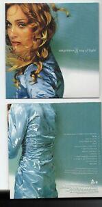 MADONNA : RAY OF LIGHT + 1 BONUS ♦ Limited Edition Album ♦ FROZEN, SUBSTITUTE