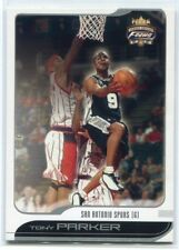 2001-02 Fleer Focus 114 Tony Parker Rookie /1850
