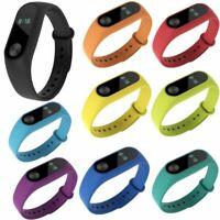 Silicona Muñeca Banda Pulsera Reloj Correa Banda Para Xiaomi Mi Band 2 Wristband