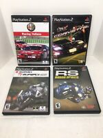 Sony PS2 PlayStation 2 Game Bundle Lot ( 4 Games ) Complete w/ Manuals