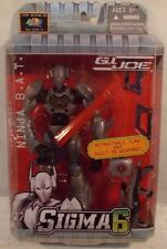 G.I. Joe Sigma 6 - Cobra Ninja B.A.T. By Hasbro Retractable Claws BAT (MOC)