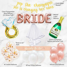 NEW 19PC Bachelorette Party Wedding Decorations Kits | Bridal Shower Supplies US