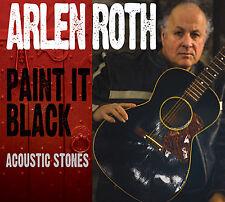 ARLEN ROTH New Sealed SLIDE & ACOUSTIC GUITAR ROLLING STONES TRIBUTE CD