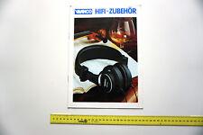 Vivanco HiFi Katalog Prospekt 80er Zubehör 16 S. Mischpult Equalizer Kopfhörer