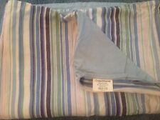 Crate and Barrel Set of 2 Lakeside Stripe Standard Pillowcases
