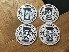 4 NEW - SAILOR JERRY CARDBOARD COASTERS
