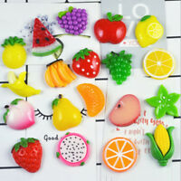 10X Kawaii Diy Miniature Artificial Resin Fruit Decorative Craft Dollhous FET fr