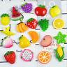10 Stücke DIY Miniatur Kunstharz Obst Dekorative Handwerk Puppenhaus Spielz APAP