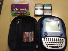 iQuest by Quantum Leap learning Lot - Hand-held Player, Case, 4 Carts Tested
