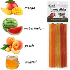 Honey Sticks Variety Pack (20 Sticks) - Treat for Sugar Gliders, Parrots, Birds